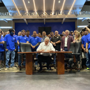 Steve sisolak signs sb448 into law (nevada office of the governor) fi