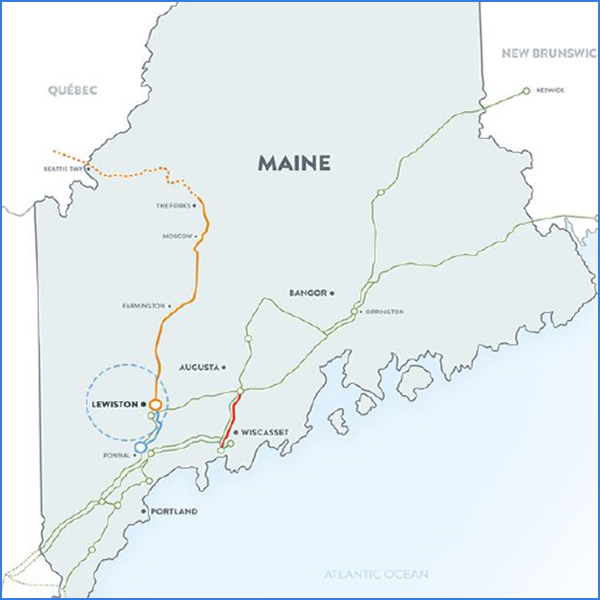 cmp central maine power necec hvdc transmission line