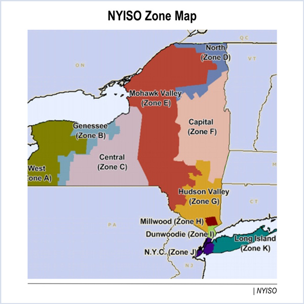 Website Site Map: FERC OKs NYISO Locality Exchange Factor; Rejects Transition Plan